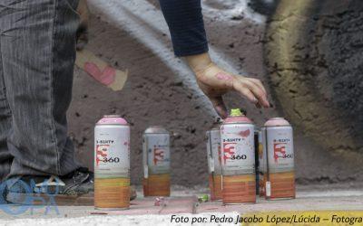 Graffiti, murales y pintadas en pro de la cultura